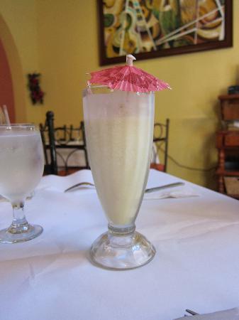 Barrachina Restaurant: pina colada at Restaurante Barrachina