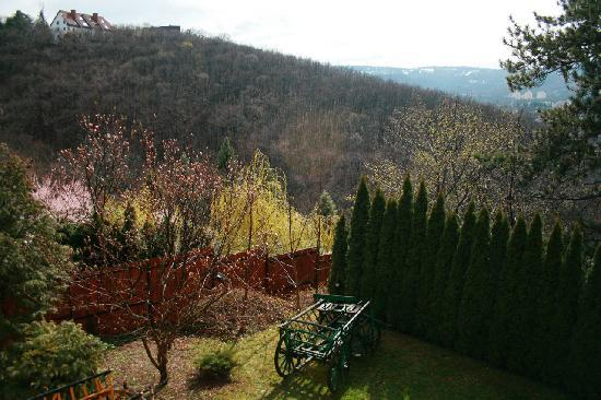Uhu Villa Budapest: view from the balcony