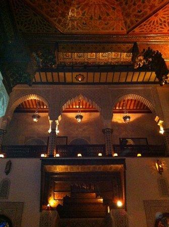 Palais Gharnata : dining room