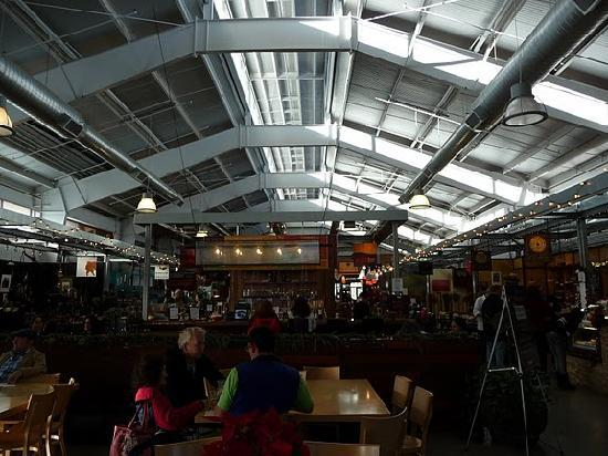Oxbow Public Market: the scene