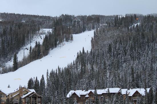 River Run Village: Ski Slope Views from Balcony