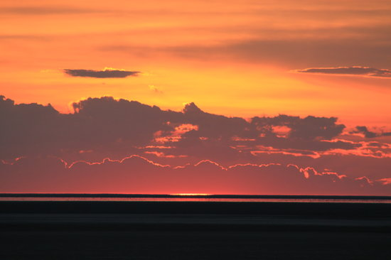Parque Nacional de Etosha, Namibia: Another perfect sunset