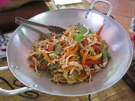 Siem Reap, Camboya: Banana Flower Salad