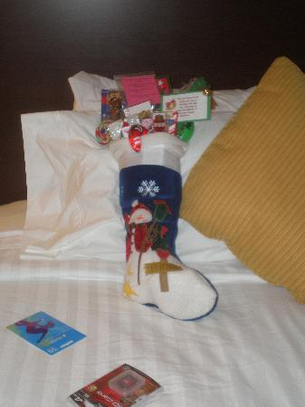 TownePlace Suites Huntsville : Santa even visits!