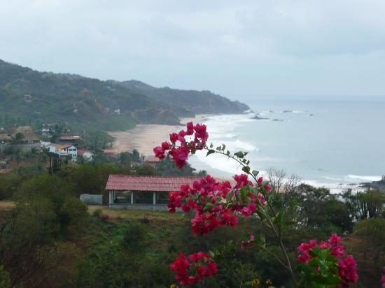 Hotel Posada Arigalan: view from Hotel Arigalan