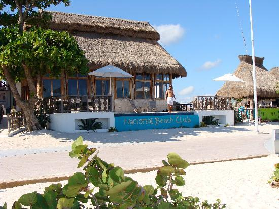 Mahahual, Μεξικό: Nacional Beach Club, Majahual(Costa Maya)