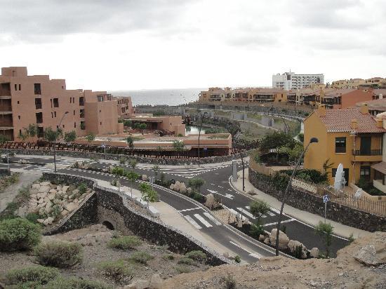 San Miguel de Abona, Spania: hotel from ravine tour