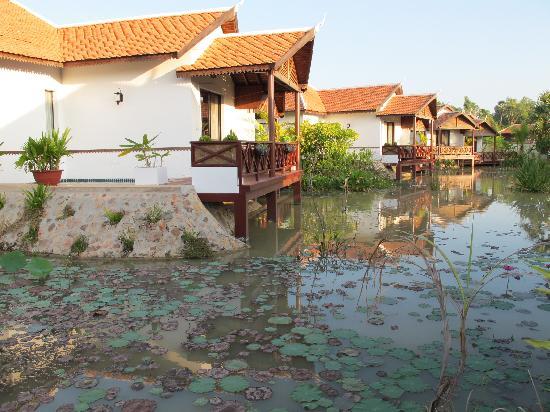 BEST WESTERN Suites and Sweet Resort Angkor : vue depuis la terasse de notre chambre