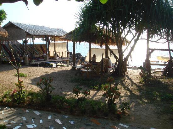 Lanta Palace Resort & Beach Club: massage face  a la mer