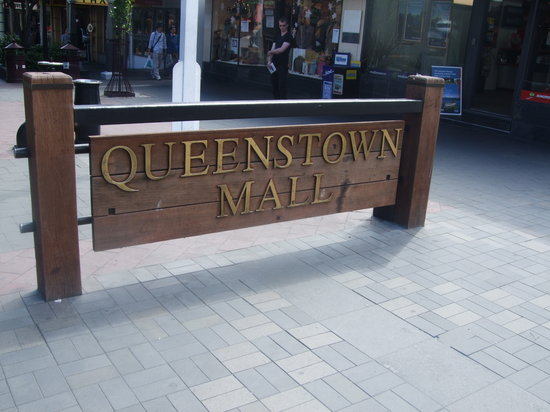 Queenstown Mall: モール正面
