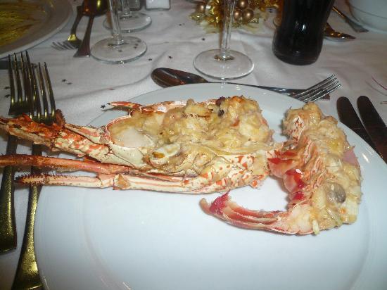Barcelo Fuerteventura Thalasso Spa : repas nouvel an