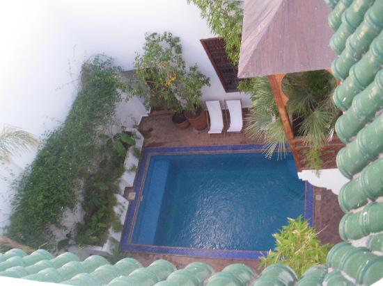 Riad l'Orangeraie: Piscine