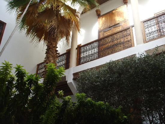 Riad l'Orangeraie: Patio