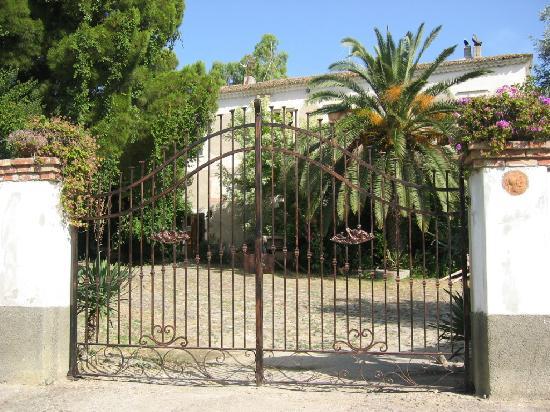 Agriturismo Dattilo: der Innenhof
