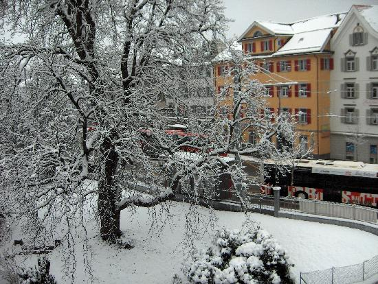 Hotel Chur: View from hotel 1