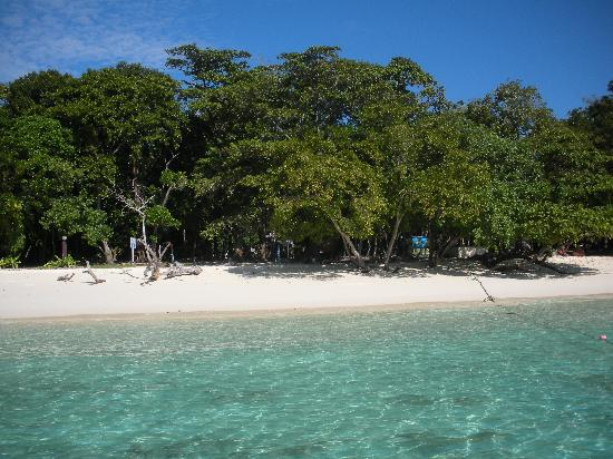Leaf House Bungalow: Blick auf Ko Rok - Nationalparkinsel nahe Ko Lanta