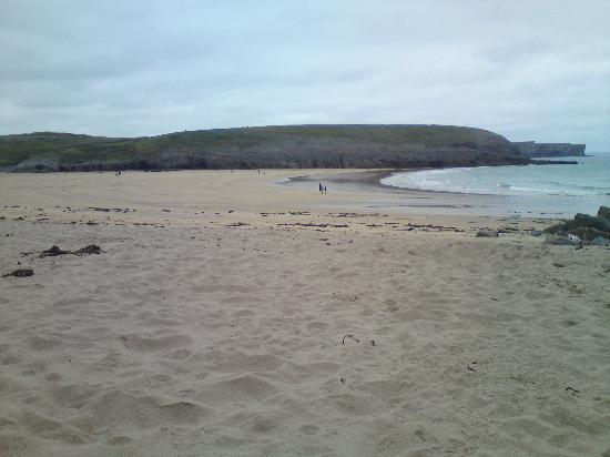 Stackpole Inn: one of the beaches...