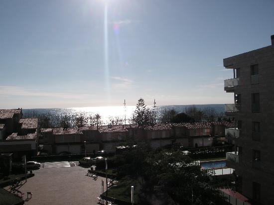 Hotel Sant Jordi: Blick vom Balkon