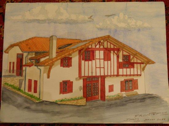Orsanco, Francia: Halzania dessiné, mieux qu'une photo