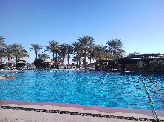 Palmera Beach Resort: Poolbar och lunchrestaurang