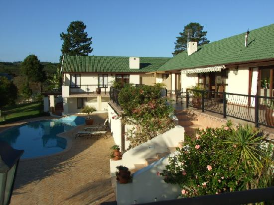 Knysna Country House: The terrace