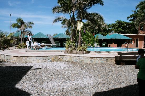 Tampisaw Beach Resort Pool Area