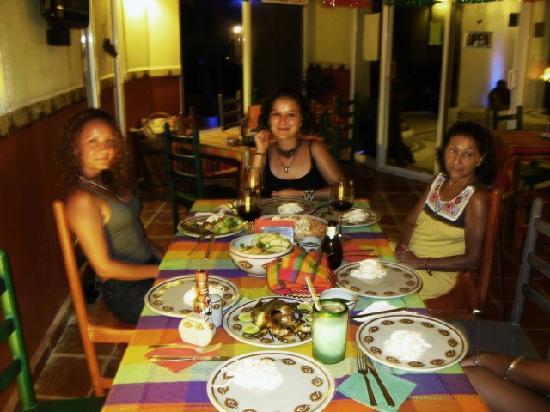 Restaurant El Grito Parrilla Mexicana: En la cena
