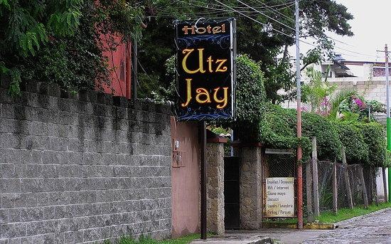 Hotel Utz Jay: from the street