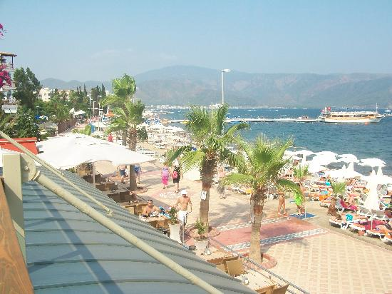Hotel Emre: view from terrace bar