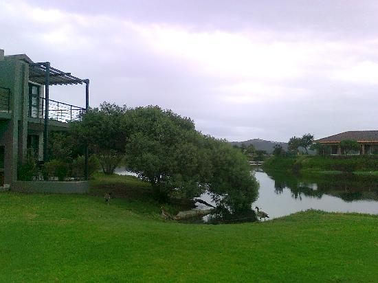 Premier Hotel Knysna – The Moorings: sight from the terracce of the apartment