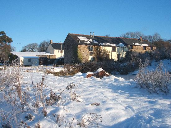 Wheatland Farm eco lodges: Otter cottage