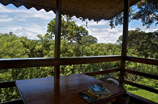 El Sol Verde Lodge & Campground: camera con vista