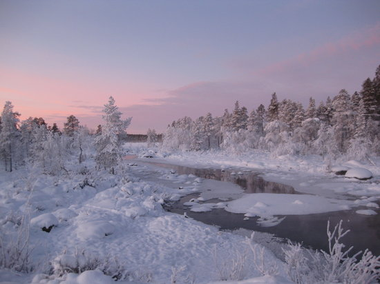 Nellim, Finlandia: Beautiful Lapland