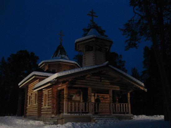 Nellim Wilderness Hotel: Nellim Church