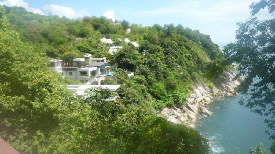 Paresa Resort Phuket : view from hotel