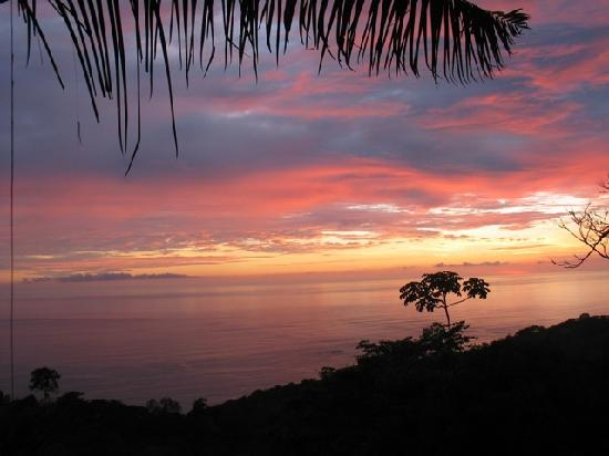 Casi el Cielo Bed and Breakfast: Pacific sunset