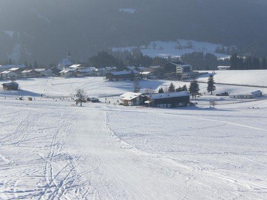 Itter, Austria: Schusterhof im Winter