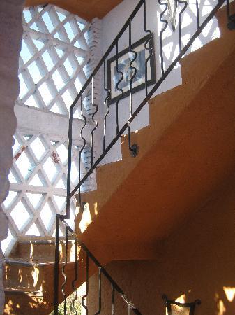 Dar Echchaouen: Escalier extérieur