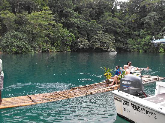 Rafting at the Blue Lagoon