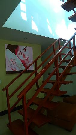 Pueblito Luxury Condohotel : PH 305 stairs to roof
