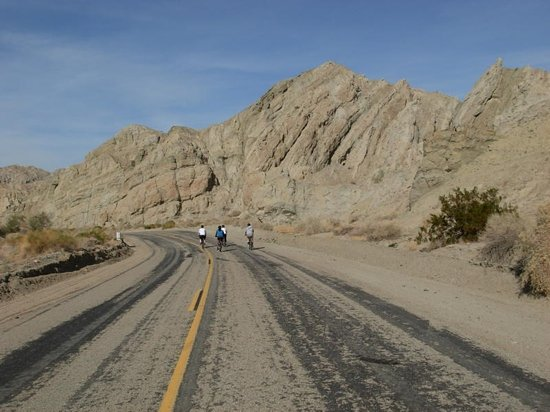 PS Bike Tours: Biking alongside San Andreas faultline