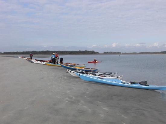 South Carolina: 18 kayakers