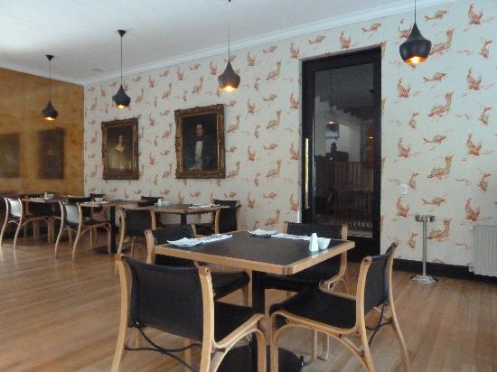 The Aubrey Boutique Hotel: Breakfast room/restaurant