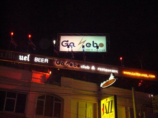 Gazebo Club Khao San Rd: Outside of bar