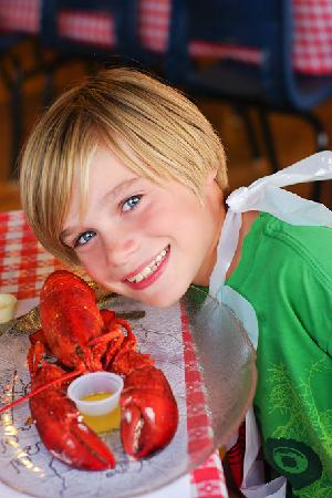 Shore Club Lobster Supper: My son loved his first ever full lobster