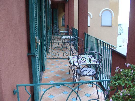 Hotel Savoia: suite 411 balcony