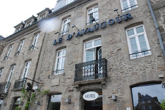 Hotel Le d'Avaugour : Esterno