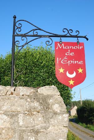 Manoir de l'Epine: Insegna Manoir