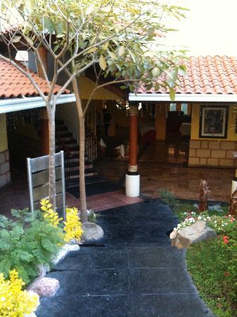 Holiday Inn Cuernavaca: veiw from room