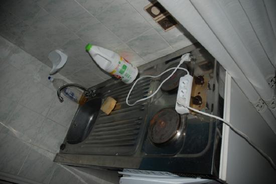 Relais de la Roseraie : Cucina pulita
